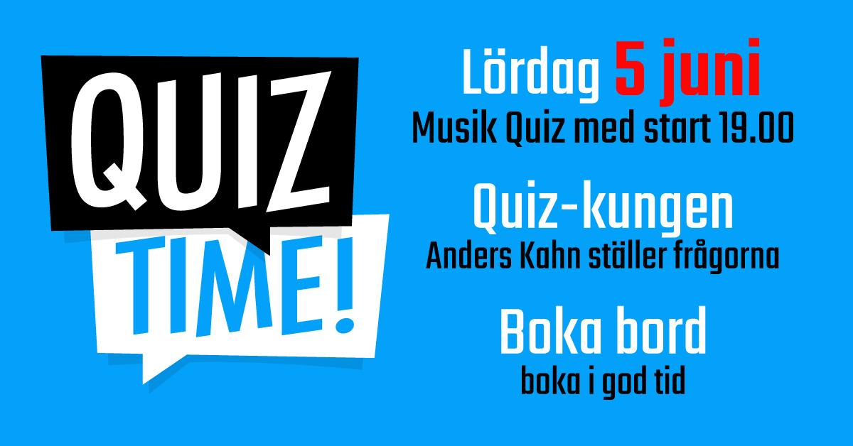 musik quiz på Fägelbro krog